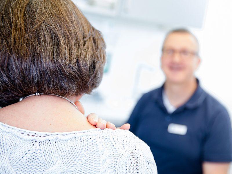 Bild mit Link zum Thema Schmerztherapie
